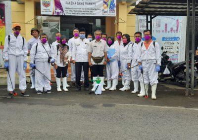 Pemerintah Kabupaten Ciamis dalam Upaya Pencegahan Covid-19 di Desa Mangkubumi