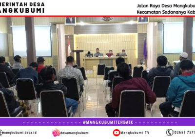 Pertemuan Rutin Forum RT/RW Desa Mangkubumi